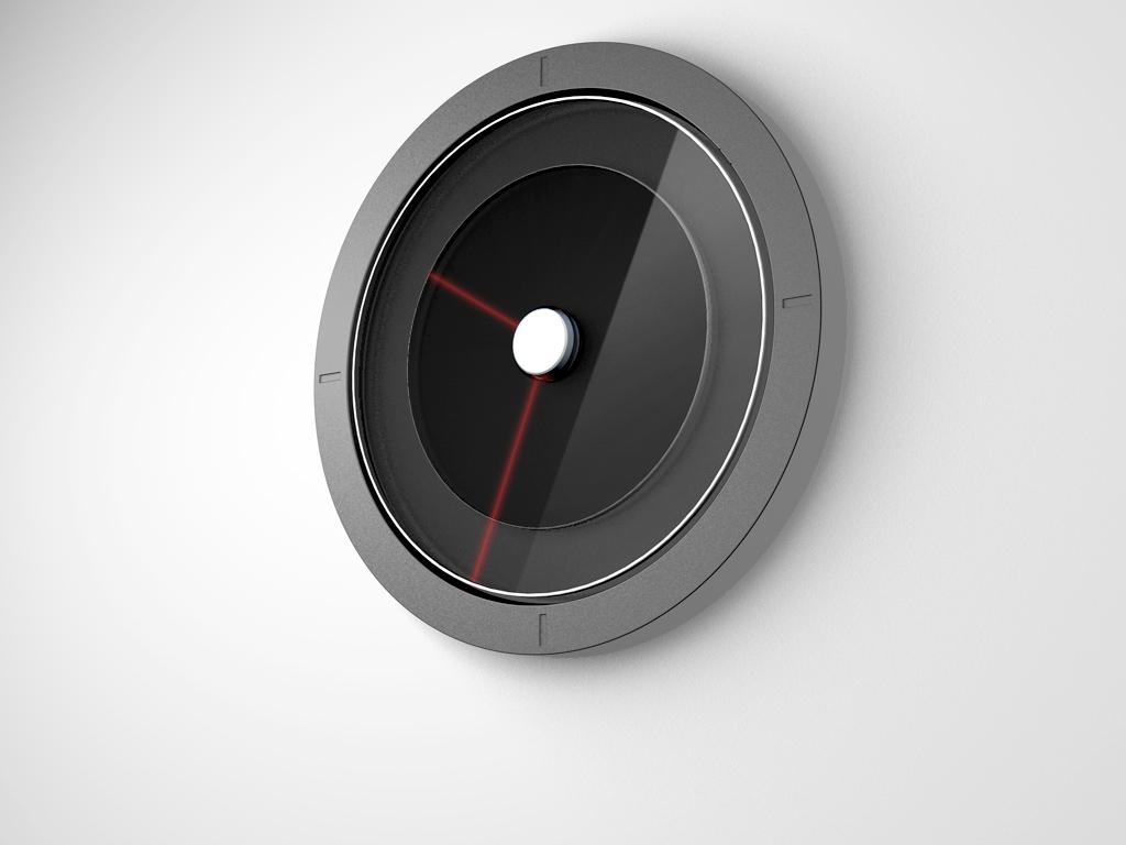 Laser Clock,SDC,雷射造型時鐘,北歐設計