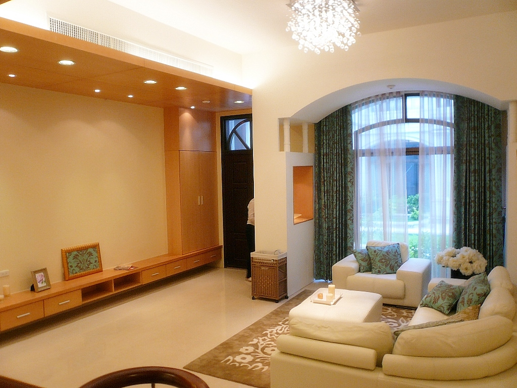 Sample house chen jia construction co ltd yunlin Sample interior design for small house