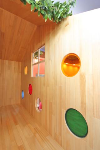 主題造型小樹屋內部